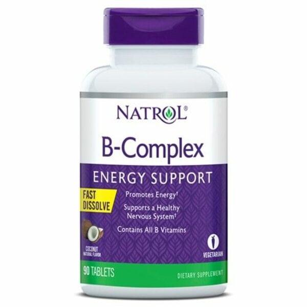 Купить Natrol B-Complex Fast Dissolve, 90 таблеток фото