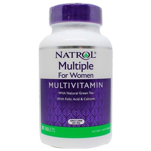 Natrol Multiple For Women (Multivitamin), 90 таблеток