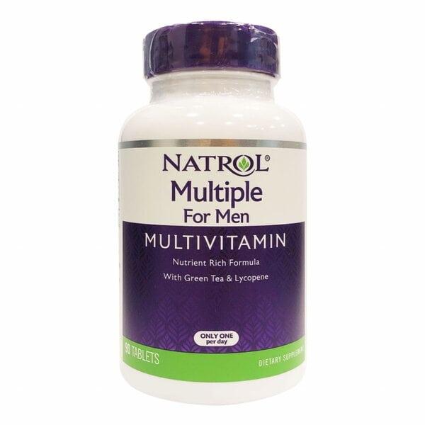 Natrol Multiple For Men (Multivitamin), 90 таблеток