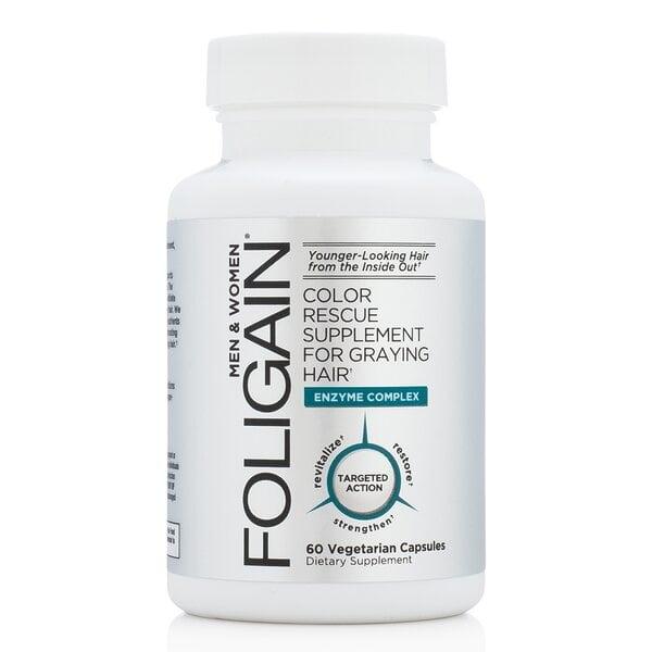 Купить Витамины Foligain для седых волос фото