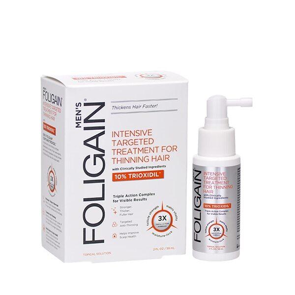 Foligain для мужчин с 10% триоксидилом для роста волос