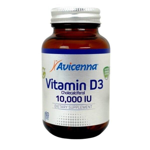 Купить Витамин Д D3 MAX 10, Авиценна, 60 капсул фото 1