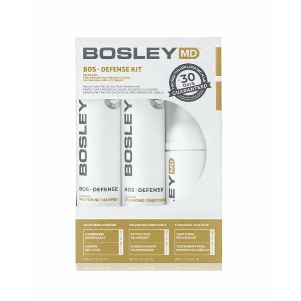 Купить  Система для предотвращения истончения и выпадения волос Bosley MD (шампунь, кондиционер, уход) фото