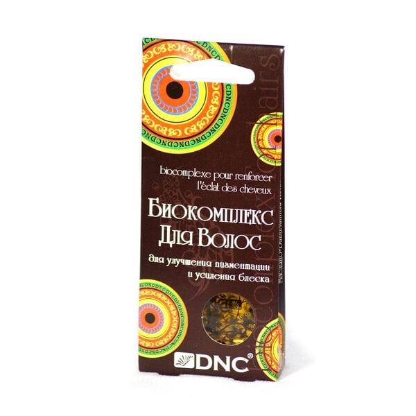 Биоактивный комплекс для улучшения пигментации волос и усиления блеска DNC, 3х15 мл