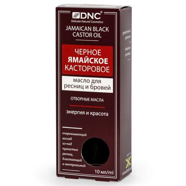 Купить Черное ямайское касторовое масло для ресниц и бровей DNC, 12 мл фото