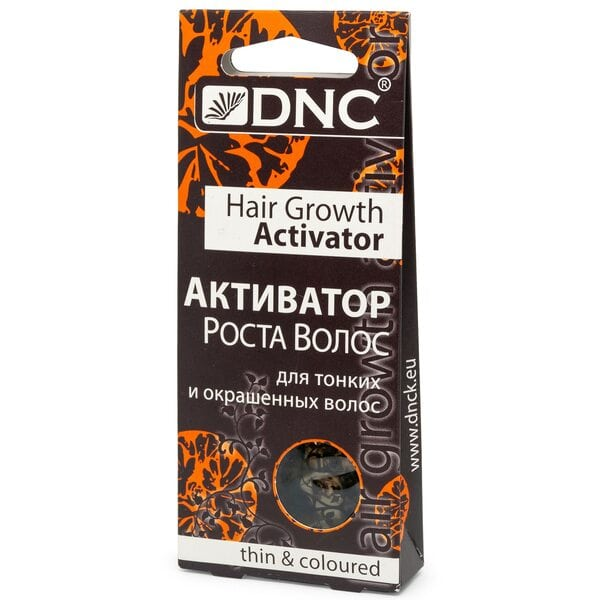 Масло Активатор роста для тонких и окрашенных волос DNC, 3х15 мл