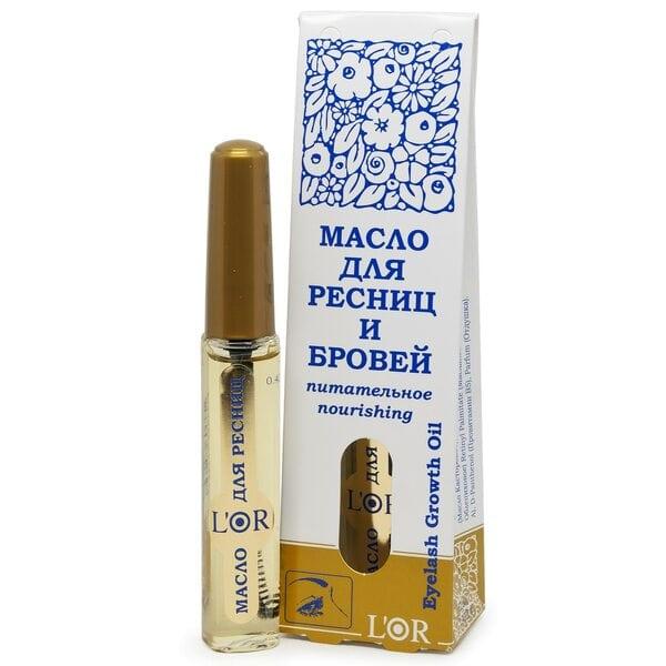 Купить Масло косметическое для ресниц и бровей питательное L'Or, 12 мл фото 1