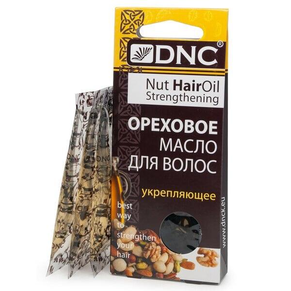 Купить Масло ореховое для волос Укрепляющее DNC, 3х15 мл фото 1