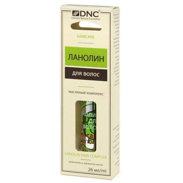 Масляный комплекс Ланолин для волос DNC, 26 мл