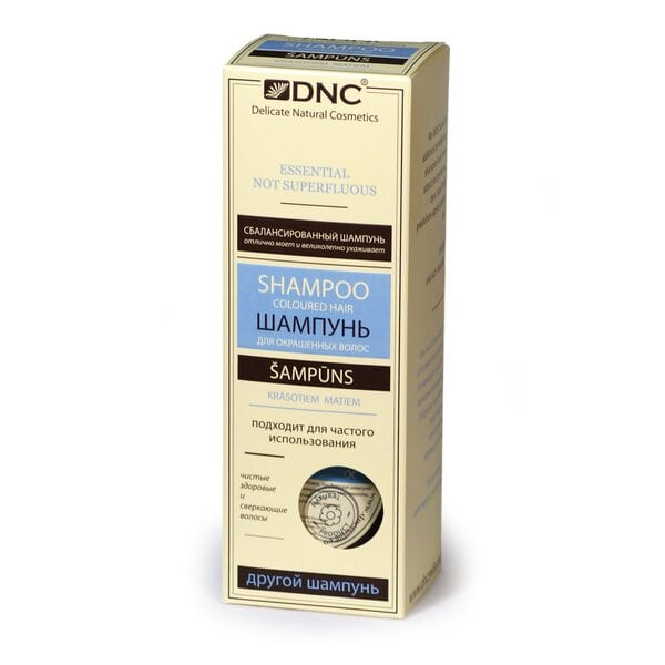 Шампунь для окрашенных волос без SLS DNC, 350 мл