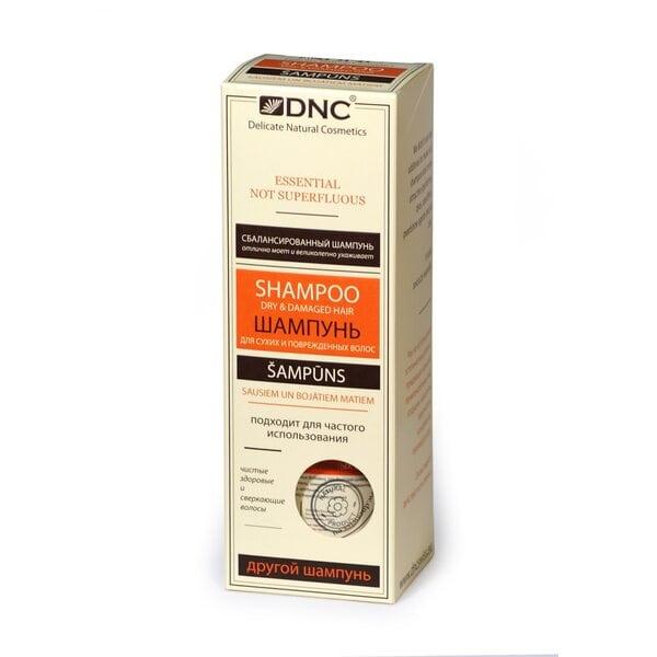 Шампунь для сухих и поврежденных волос без SLS DNC, 350 мл