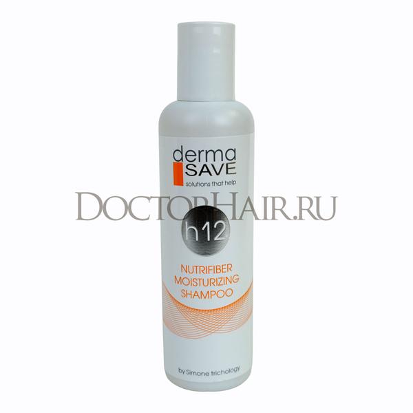Шампунь увлажняющий h12 DermaSave для всех типов волос и кожи головы, 200 мл