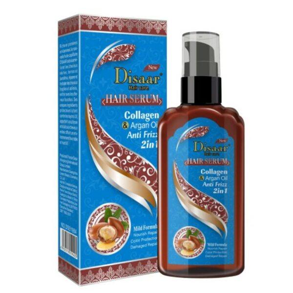Купить Сыворотка для волос с Коллагеном и Аргановым маслом Disaar 120 мл фото