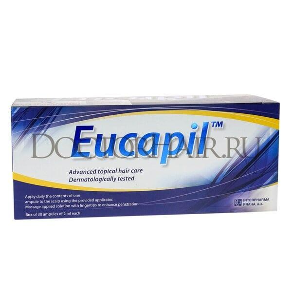 Купить Эвкапил ампулы от выпадения волос фото