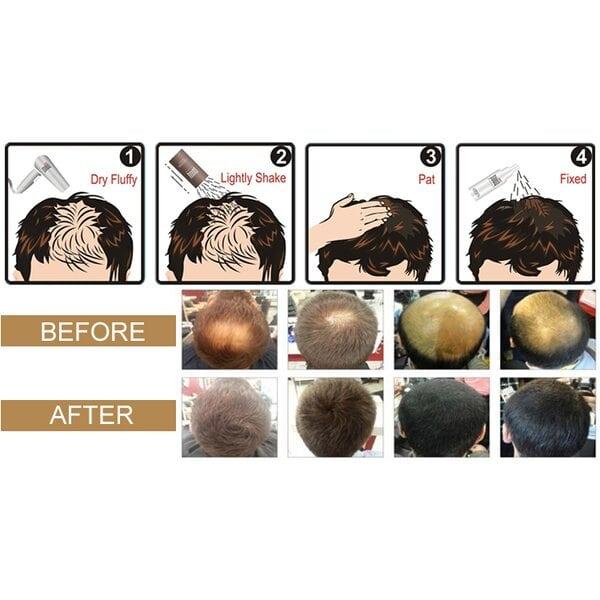 Купить Загуститель для волос Fully (черный), 23 гр фото 4