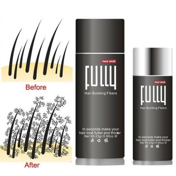 Купить Загуститель для волос Fully (черный), 23 гр фото 2