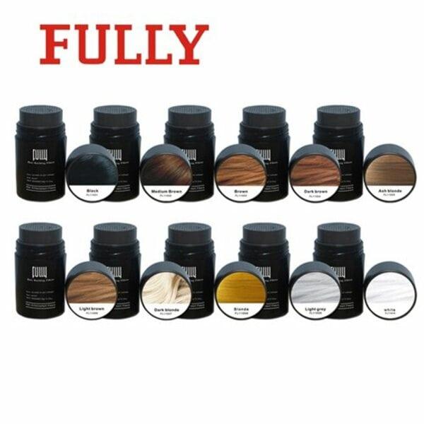 Купить Загуститель для волос Fully (черный), 23 гр фото 3