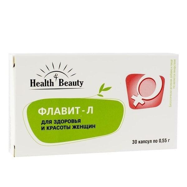 """Купить Флавит-Л – для здоровья и красоты женщин, """"Health & Beauty"""", 30 капсул фото"""