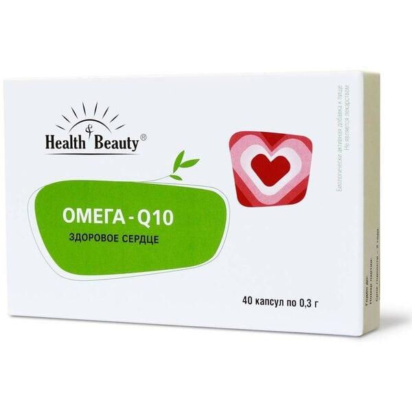 """Омега – Q10 для сердца и сосудов, """"Health & Beauty"""", 40 капсул"""
