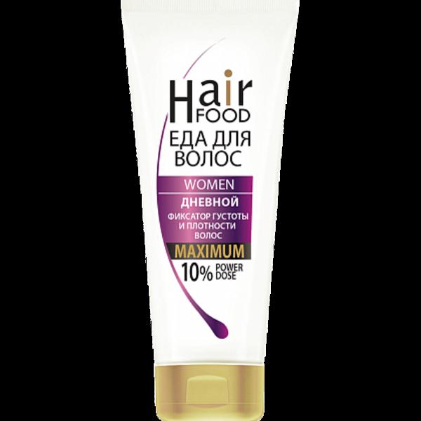 Купить Дневной фиксатор густоты и плотности волос «HairFood» WOMEN Гель MAXIMUM 10% фото