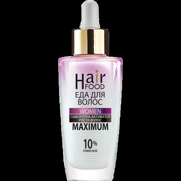 Купить Сыворотка Активатор роста волос «HairFood» WOMEN MAXIMUM 10% фото