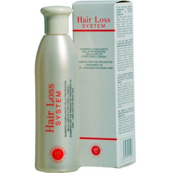 Безсульфатный био шампунь Hair Loss System pH 5.0