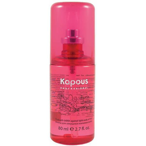 Купить Флюид для секущихся кончиков волос с биотином Biotin Energy Kapous, 80 мл фото