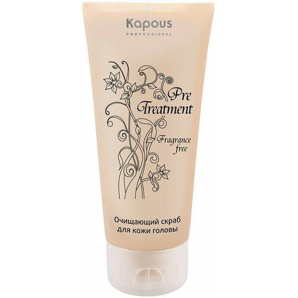 Купить Очищающий скраб для кожи головы PreTreatment Kapous, 150 мл фото
