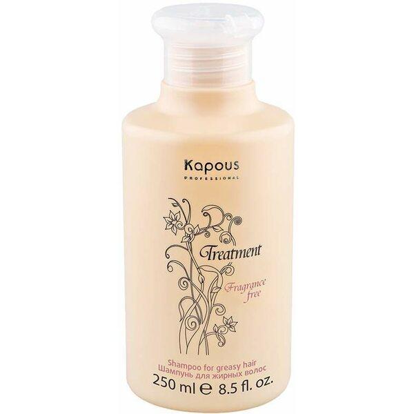 Купить Шампунь для жирных волос Treatment Kapous, 250 мл фото