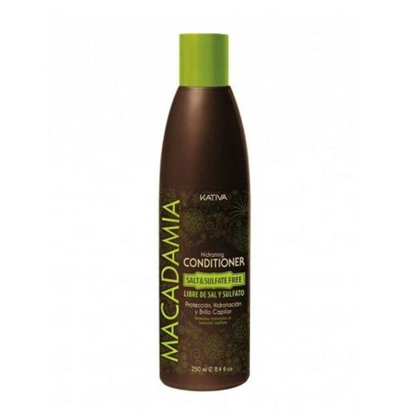 Купить Интенсивно увлажняющий кондиционер для нормальных и поврежденных волос Macadamia, Kativa, 250 мл фото