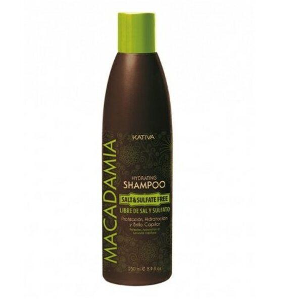 Купить Интенсивно увлажняющий шампунь для нормальных и поврежденных волос Macadamia, Kativa, 250 мл фото