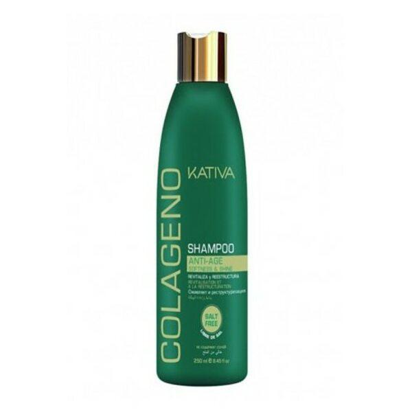 Купить Коллагеновый шампунь для всех типов волос Colageno, Kativa, 250 мл фото