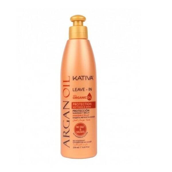 Купить Несмываемый оживляющий концентрат для волос с маслом Арганы ARGAN OIL, Kativa, 250 мл фото