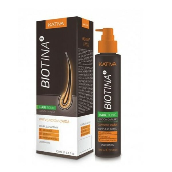 Купить Тоник против выпадения волос с биотином Biotina, Kativa, 100 мл фото