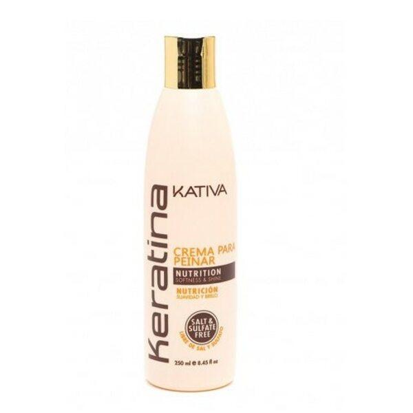 Купить Укрепляющий шампунь с кератином для всех типов волос Keratina, Kativa, 250 мл фото