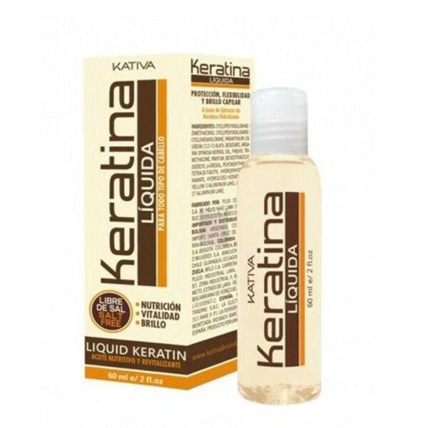 Купить Жидкий кератин для волос Keratina, Kativa, 60 мл фото
