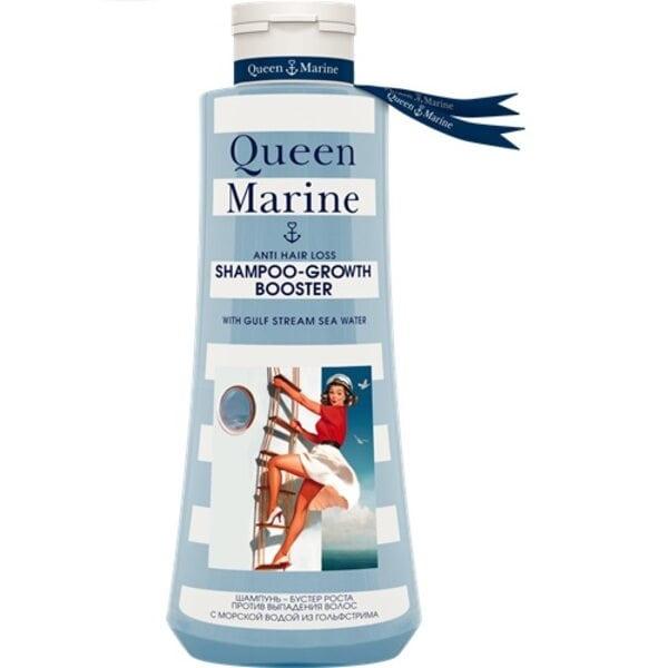 Купить Квин Марин шампунь-бустер роста против выпадения волос фото