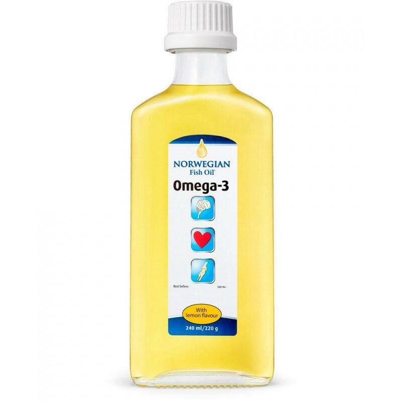NFO Омега-3 со вкусом лимона
