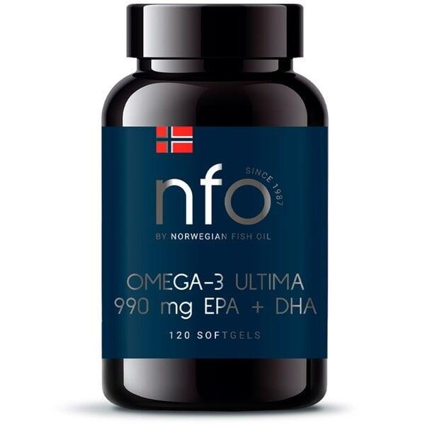 NFO Омега-3 Ультима, 120 капсул
