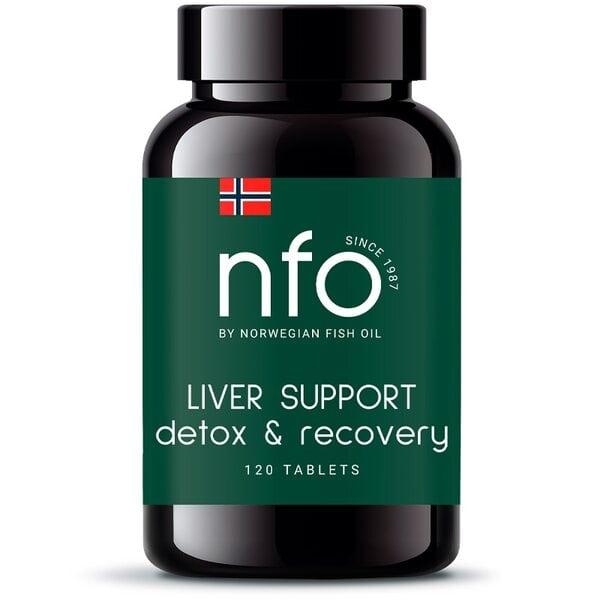 Купить NFO Поддержка печени, 120 таблеток фото