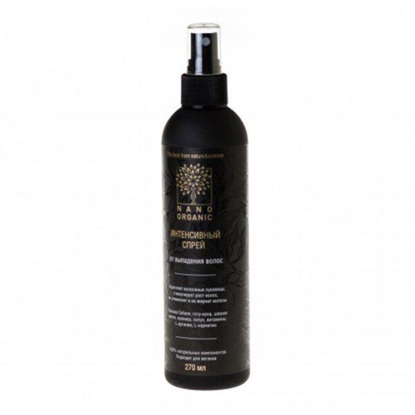 Спрей от выпадения волос для кожи головы Nano Organic, 270 мл