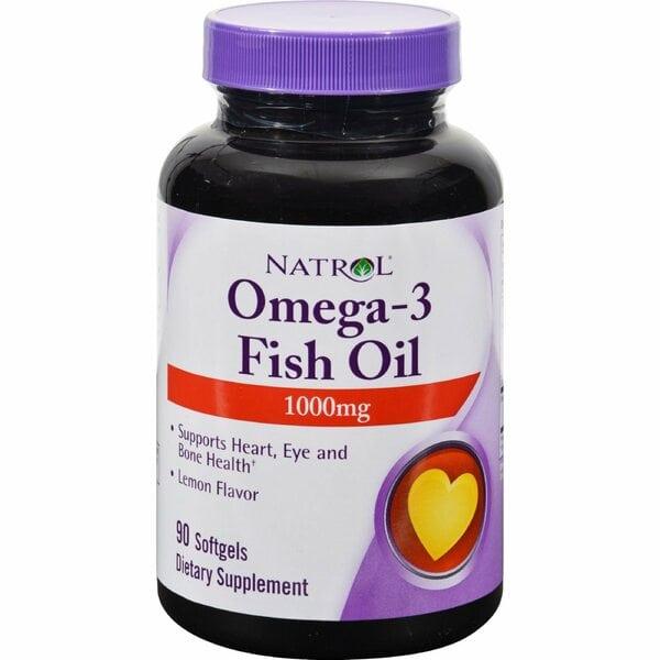 Natrol Omega-3 Fish Oil 1000 мг 90 капсул