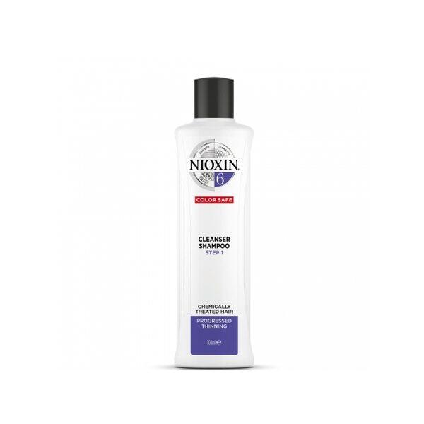Купить Очищающий шампунь Система 6 Nioxin для химически обработанных истонченных волос, 300 мл фото