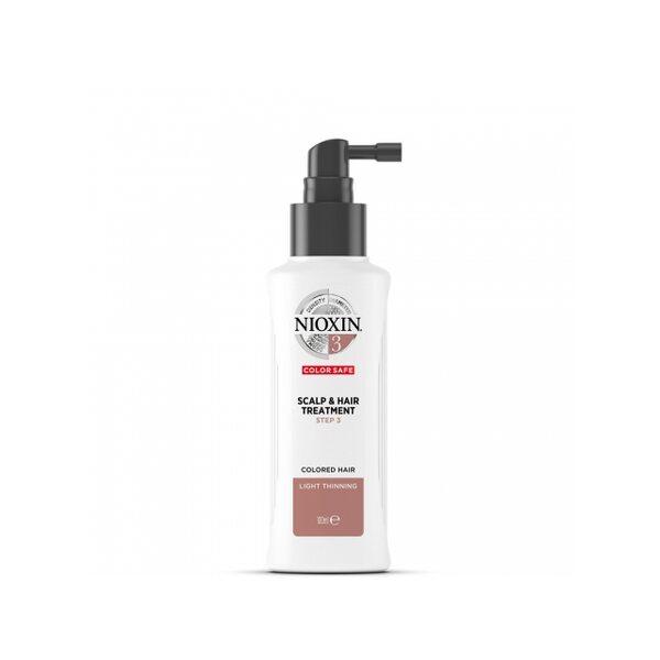 Купить Питательная маска Система 3 Nioxin для окрашенных волос с тенденцией к истончению, 100 мл фото