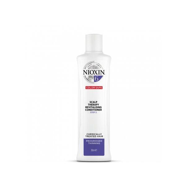 Купить Увлажняющий кондиционер Система 6 Nioxin для химически обработанных истонченных волос, 300 мл фото