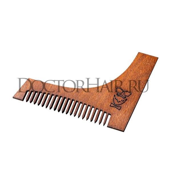 """Купить Расческа деревянная """"Модник"""", для оформления бороды и усов фото"""