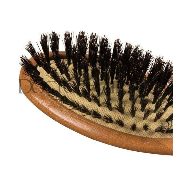 Купить Расчёска массажная «Бамбук», комбинированная щетина, цвет «светлое дерево» фото 1