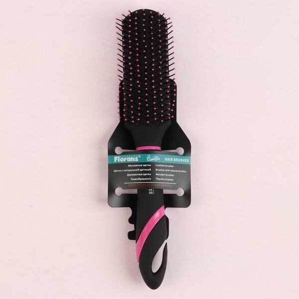 Купить Расческа-мини Радуга, массажная, цвет МИКС, 24 см фото 1