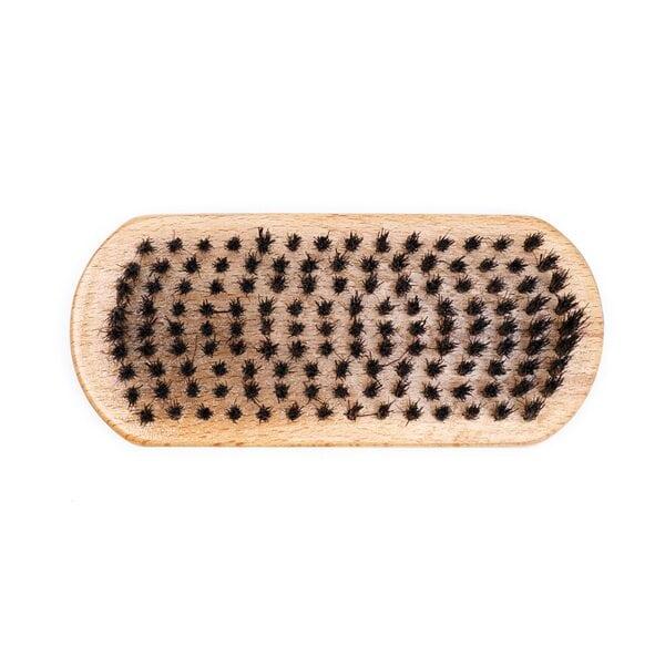 Щетка для бороды, натуральная щетина, 9-рядная