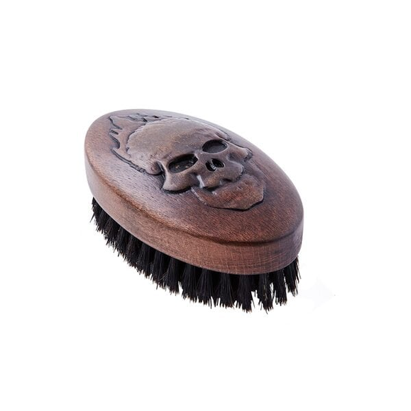 Купить Щетка для укладки бороды, натуральная щетина, 9-рядная фото